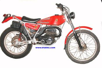 trial MC BULTACO SHERPA T MOD 199